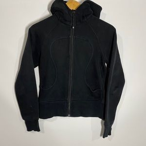 Lululemon athletica scuba hoodie sweatshirt black